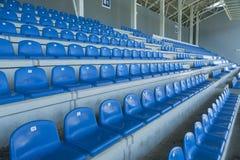 Empty bleachers - Stadium seats Stock Photography