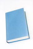Empty blue book cover on the white background Royalty Free Stock Photos