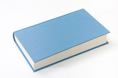 Empty blue book cover on the white background Royalty Free Stock Images