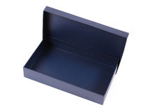Empty blue box Royalty Free Stock Image