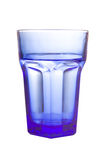 Empty blue glass Stock Photos