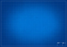 Empty blueprint for project Stock Photos