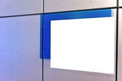 Empty board. In a modern business building stock photo