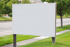 An empty board no3 Royalty Free Stock Image