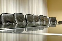 Empty board room Royalty Free Stock Photo