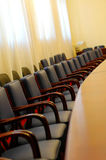 Empty board room Royalty Free Stock Photography