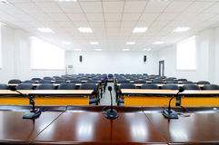 Empty boardroom Royalty Free Stock Images