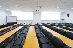 Empty boardroom Royalty Free Stock Image