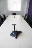 Empty boardroom meeting area Royalty Free Stock Photos