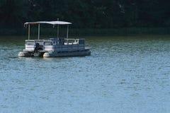 Empty Boat On Lake Royalty Free Stock Photo