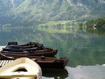 Empty boats Royalty Free Stock Photo