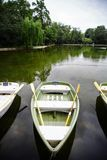 Empty boats Stock Photography