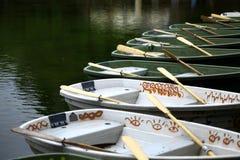 Empty boats Royalty Free Stock Photos