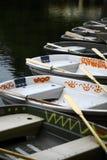 Empty boats Stock Photos