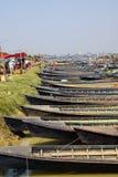 Empty boats await tourists Stock Photography