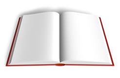 Empty book Stock Photography