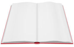 Empty book Royalty Free Stock Image