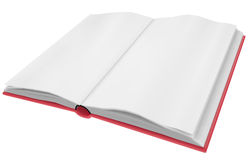 Empty book Stock Images