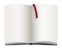 Empty book or notepad Royalty Free Stock Images