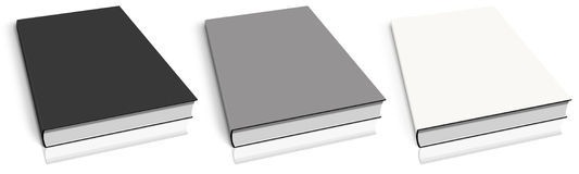 Empty book template Royalty Free Stock Image