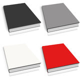 Empty book template on white Stock Photography