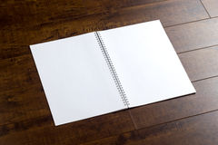 Empty booklet Royalty Free Stock Image