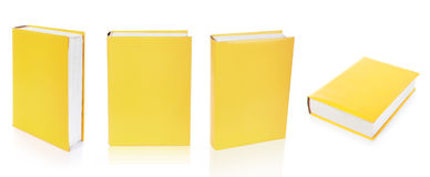 Empty books cover isolated on the white background royalty free stock photography