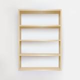 Empty Bookshelf Royalty Free Stock Photo