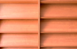 Empty bookshelf Royalty Free Stock Photography