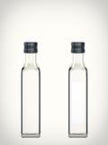 Empty bottle isolated on a white background Royalty Free Stock Image