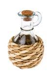 Empty bottle for oil Stock Photo