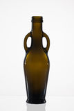 Empty bottle of olive oil Stock Image
