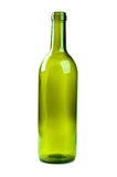 Empty bottle of wine Stock Photos