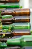 Empty bottles Stock Images