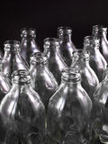 Empty bottles Stock Photography