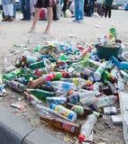 Empty bottles Stock Image