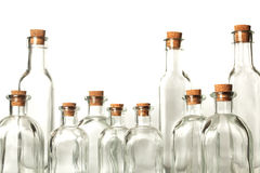 Empty bottles Royalty Free Stock Photos