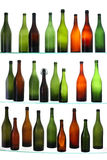 Empty bottles Royalty Free Stock Photos