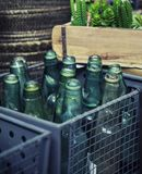 Empty bottles Royalty Free Stock Images