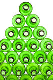 Empty bottles from green glass Stock Image