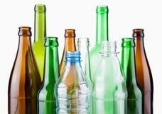 Empty bottles Royalty Free Stock Image