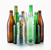 Empty bottles Royalty Free Stock Photo