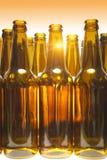 Empty bottles Stock Photography