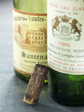 Empty bottles of vintage wine Royalty Free Stock Image