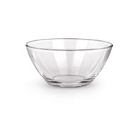 Empty bowl glass Royalty Free Stock Photo
