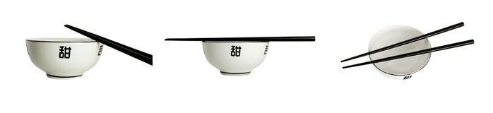 Empty bowl for sushi Royalty Free Stock Photo