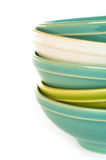 Empty bowls Royalty Free Stock Image