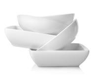 Empty bowls  Royalty Free Stock Photo
