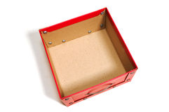 Empty box Royalty Free Stock Photos