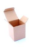 Empty cardboard box  Royalty Free Stock Image